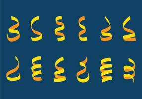 Gul Serpentin vektor