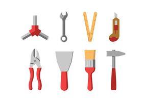 Hårdvara verktyg ikoner
