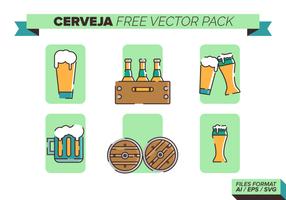 Cerveja gratis vektorpack