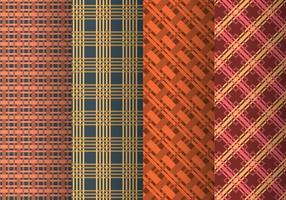 Plait eller Braid Pattern Vectors
