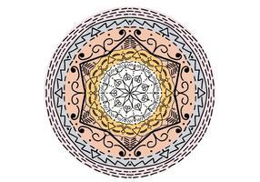 Islamische Verzierung Mandala Freier Vektor