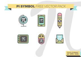 Pi symbol kostenlos vektor pack