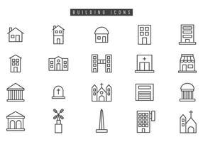 Freie Gebäudevektoren vektor