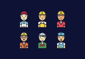 Freier Tradesman Vektor