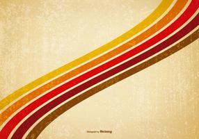 Retro Grunge Stripes Hintergrund vektor