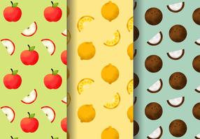 Freie Nette Fruchtmuster