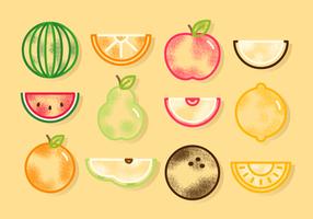 Kostenlose Nette Obst-Vektoren vektor
