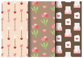 Freie Nette Valentinstag-Muster