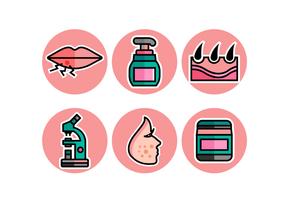 Dermatologi Gratis Vector Pack