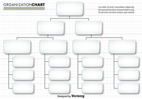 Vektor Enkel Organisationskarta