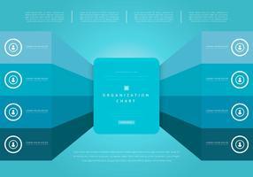Organigramm, Geschäftsstruktur vektor