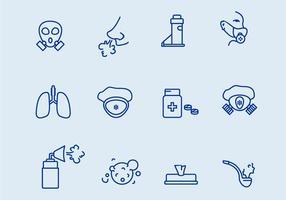 Atemschutzgerät Symbole