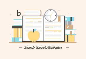 Free Back To School Vektor-Elemente vektor