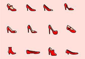 Vektor rubin skor