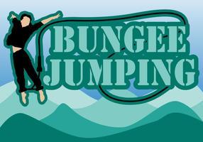 Bungee Jumping vektor