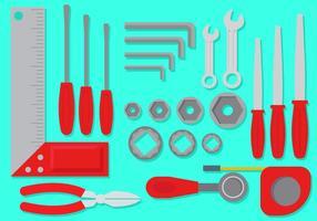 Uppsättning arbetsverktyg