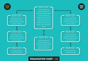 Organisationsschema vektor