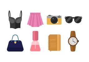 Freie Frau Mode Vektor Icon