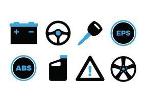 Automotive icon set vektor