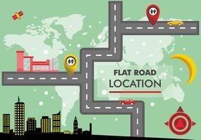 Roadmap-Vektor-Design