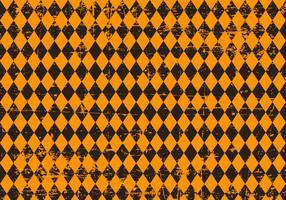 Grunge Argyle Halloween Hintergrund vektor