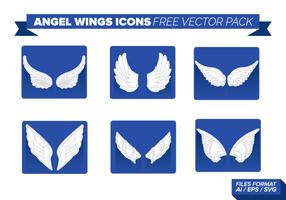 Engelsflügel Icons Free Vector Pack