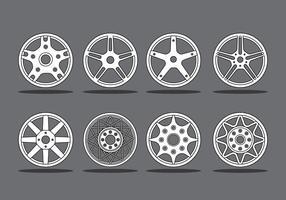 Leichtmetallräder vektor