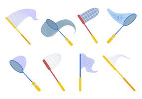 Free Butterfly Net Icons Vektor