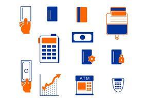 Icon Pack von E-Commerce vektor