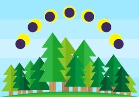 Gratis Utomhus Solar Eclipse Vectors