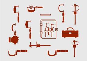 Micrometer Vektor Set