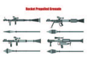 Set av RPG vektorer