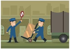 Free Movers Illustration Vektor
