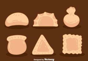 Dumplingsinsamlingsvektorer vektor