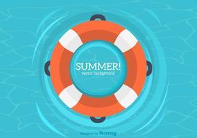 Sommer Innenrohr Vektor Hintergrund