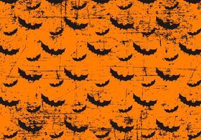 Grunge Halloween fladdermöss bakgrund