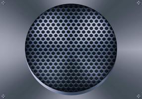 Lautsprecher-Grill Vektor-Illustration
