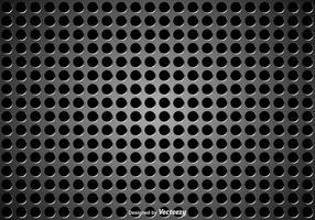 Högtalare grill metall textur vektor