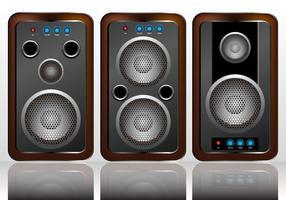 Lautsprecher-Vektor-Set