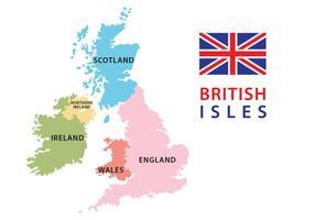 Brittiska öarna karta