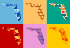 Florida-Karte Vektor-Illustration