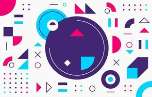 geometrischer abstrakter Hintergrund vektor