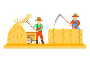 Freie hervorragende Bauernvektoren vektor