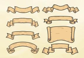 Free Ribbon Gravur Illustration Vektor