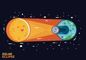 Gratis Solar Eclipse Vector