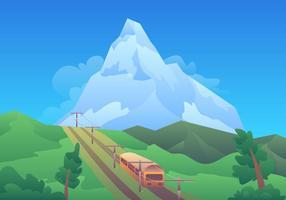 Matterhorn tour vektor