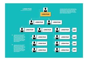 Gratis Organisation Diagram Vector