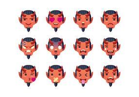 Teufel Emoticon Set