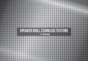 Lautsprecher Grill Edelstahl Textur