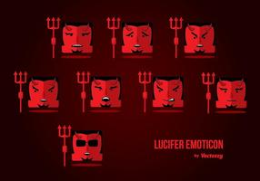 Lucifer Emoticon Vector